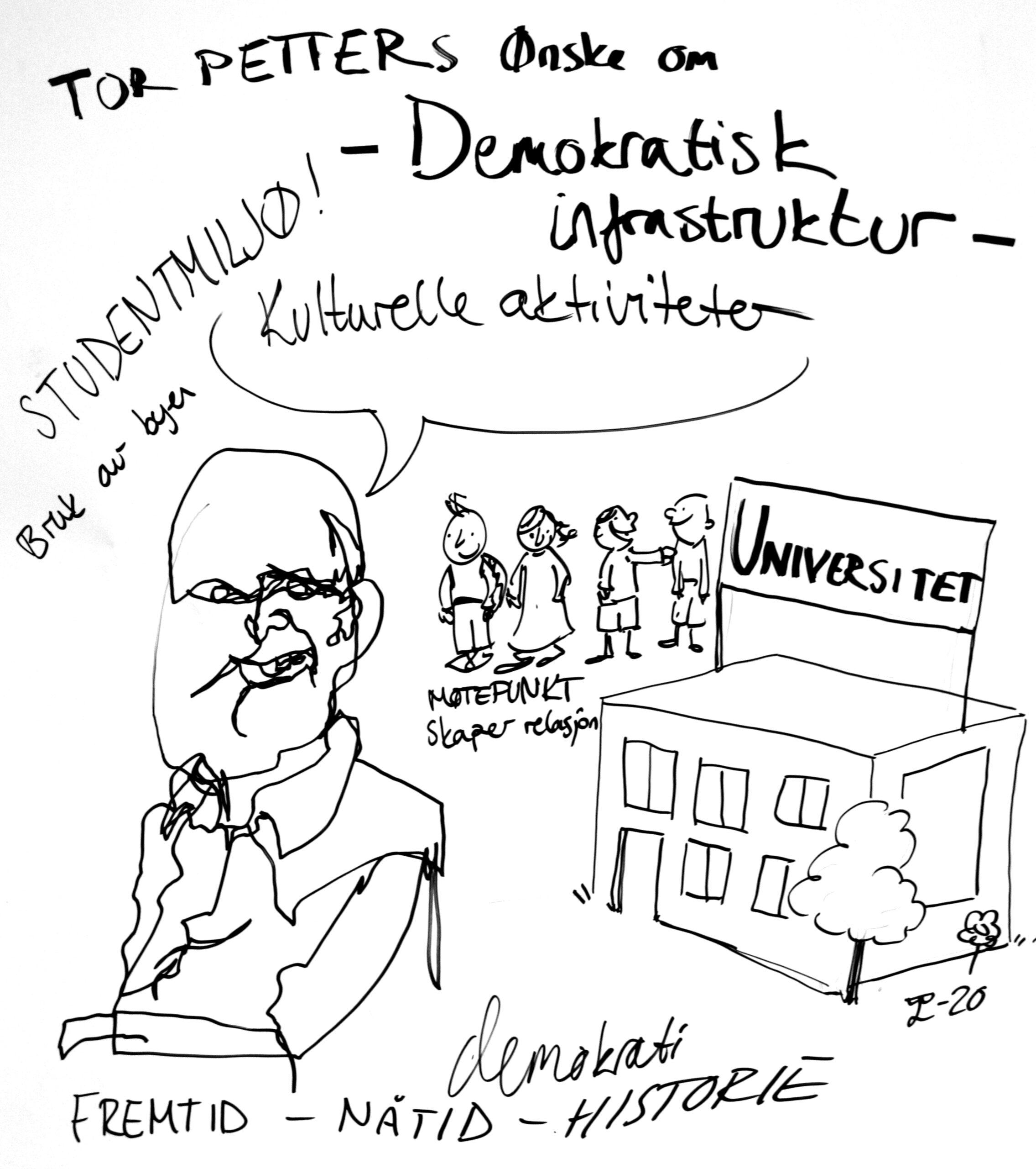 In search of Democracy 3.0, Moss: Illustrasjon